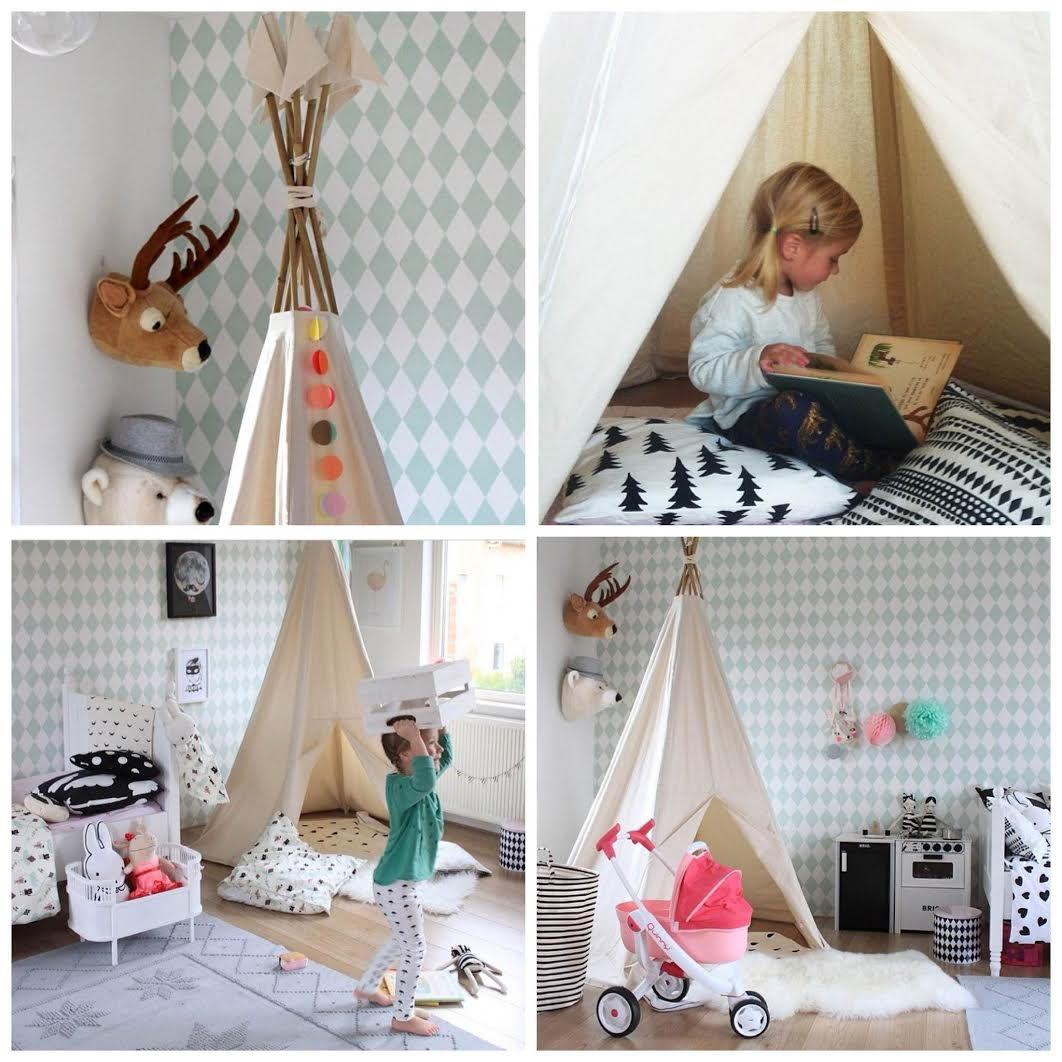 trend tipis f rs kinderzimmer raspberry baby. Black Bedroom Furniture Sets. Home Design Ideas